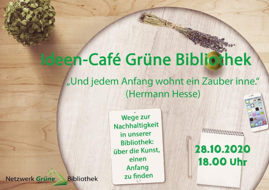 Zweites Online-Ideen-Café